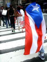 Puerto Rican Day Parade. by LateRainyNights
