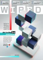 "3D ""Anaglyph"" WIRED Cover by JustMarDesign"