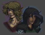 Genderswap Time: Yasuko and Porcius by Danni-Stone