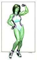 She-Hulk by Reverie-drawingly