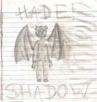Hade Shadow - Basic outline by Shadow-wolven