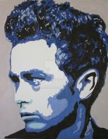 James Dean in Blues by 3rdwoman