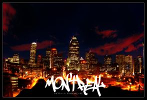 Montreal with a fisheye by Pathethic