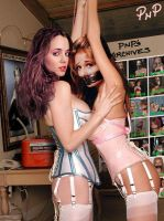 PNP Eliza Dushku with Sarah Michelle Gellar by ArtT1000
