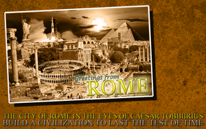 Greetings from Rome - CIV by SirTobbii