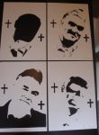 Morrissey - Stencils ready for Spray Paint by RAMART79