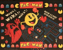 Pac-Man Tribute by DannyNicholas
