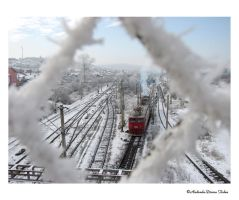 Winter train by NifeenAnkh