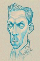 Hugh Laurie by thundercake