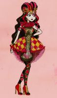 Lizzie Hearts Ever After High fan art by hello-heydi