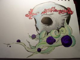 Skull and Thorns by accomplicefarrell