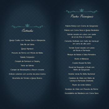 Menu (back) by raquelabe