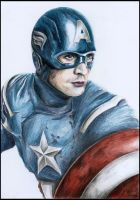 Captain America - The Avengers by foxartsbrazil