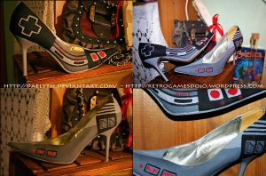 NES shoes by Daelyth