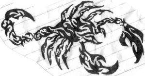 Scorpian by twisted-goth