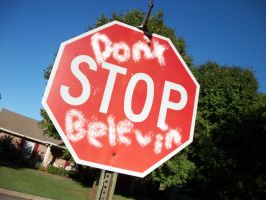 Don't Stop Belevin by Zachary-Darkmoon