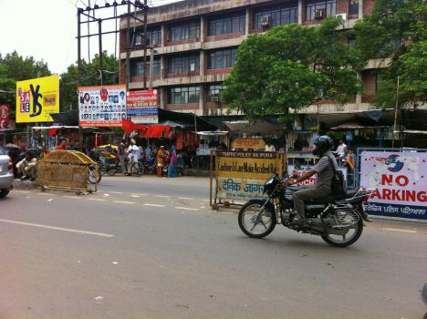 Streets of Patiala by vohu
