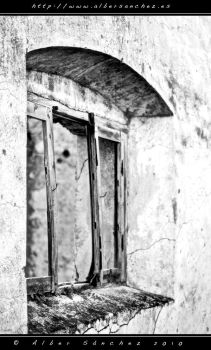 A window to the desolation... by imacker