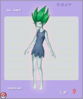 Oddish Gijinka for Pokedex by Kotodama