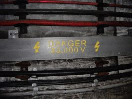 Thames Tunnel-Danger High Voltage by chaobreeder16