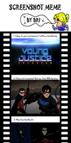 Young Justice Invasion Screenshot Meme by rclewley2