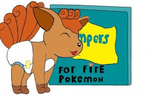 fire proof pampers by plushielover