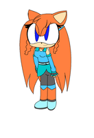 .:Gift:.Lily The Hedgehog by Xx-MikuThePanda-xX