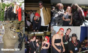 Wondercon 2010 Collage 1 by ShellMinded