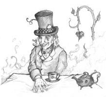 Mad Hatter by benjikoko
