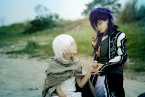 Magi_Sinbad and Jafar by HAN-Kouga