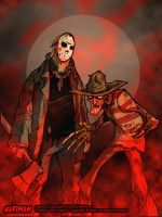 FRED and J by sideshowmonkey by Horror-Forever