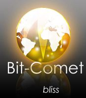 Bit-Comet Glass iCon by d-bliss
