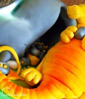 Competition: Dragon's Lair by cakecrumbs