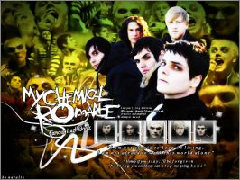 My Chemical Romance Wall by Y2Natalie