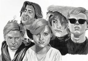 The Breakfast Club by cssp