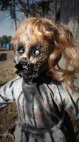 Zombie Doll Allonna by contagiouscreations
