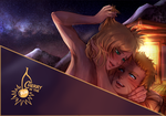 commission teaser - Naruto x Temari by CherryInTheSun