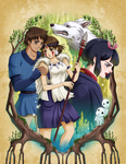 PrincessMononoke by FallenMessiahX