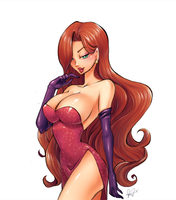 Jessica Rabbit by shikami