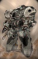 black_market_prospect_mole_power_armor_ by Xeno-Crazy