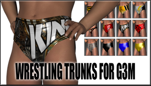 Wrestling Trunks for Genesis 3 Male by sedartonfokcaj
