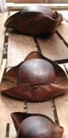 1st Leather Tricorn hat by Tobias-lockhart