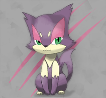 Purrloin by Rioteru