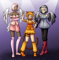 Revolution Mew project by MewMizu