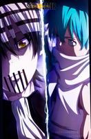 Soul Eater:Death the Kid vs Black Star by iNFERNo2446