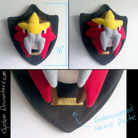 Wall Mounted Entei Head by xSystem