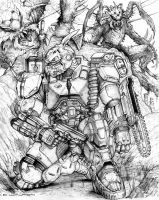 RIFTS NG Forester Power Armor by ChuckWalton