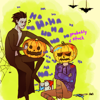 RotG:  pumpkin-stuck by hyokka