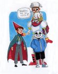 Undertale/Over The Garden Wall crossover by Yodeki