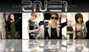 2NE1 - Lonely Wallpaper by AHRACOOL